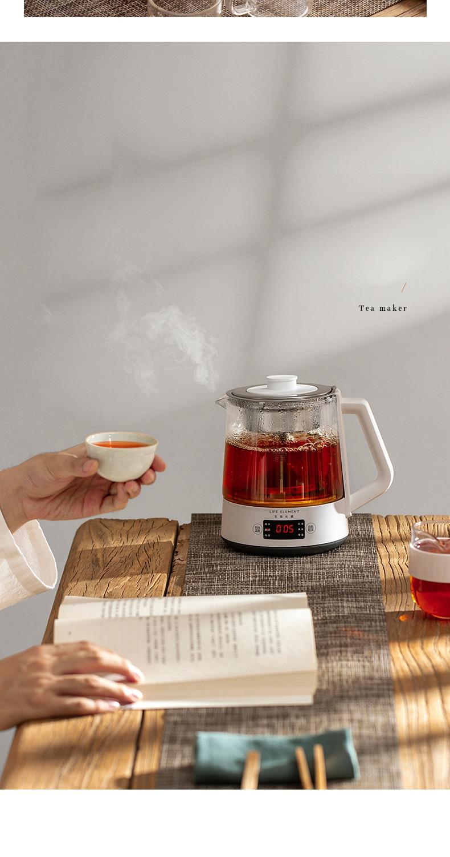 chá com extração isolamento térmico bule de