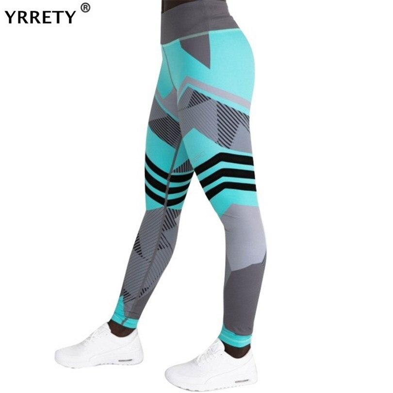 YRRETY 2020 Fashion Work Out Elastic Leggings Women Printing Fitness Pencil Pants Female Casual Sweatwear Skinny Leggins S-XXXL