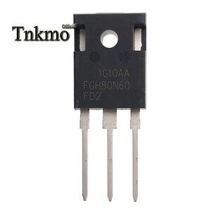 Image 1 - 5 個 FGH80N60FD2TU FGH80N60FD2 FGH80N60 に TO 247AB 247 N CHANNEL チューブパワー igbt トランジスタ 80A 600 v 無料配信