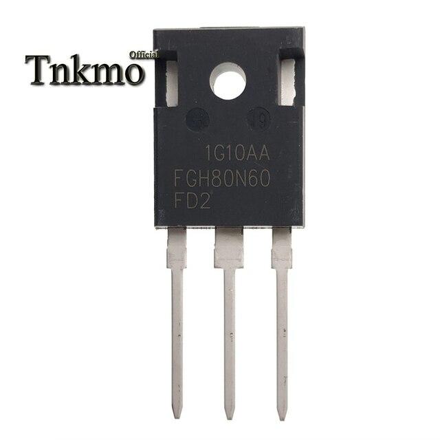 5PCS FGH80N60FD2TU FGH80N60FD2 FGH80N60 TO 247AB כדי 247 N CHANNEL צינור כוח IGBT טרנזיסטור 80A 600V משלוח חינם
