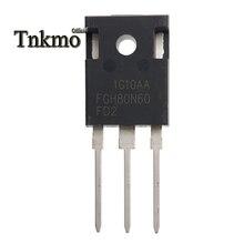 5PCS FGH80N60FD2TU FGH80N60FD2 FGH80N60 TO 247AB TO 247 N CHANNEL 튜브 전원 IGBT 트랜지스터 80A 600V 무료 배송
