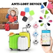 Llavero con localizador GPS para perros y niños, Mini billetera con alarma antipérdida, Etiqueta inteligente Bluetooth, rastreador de llaves