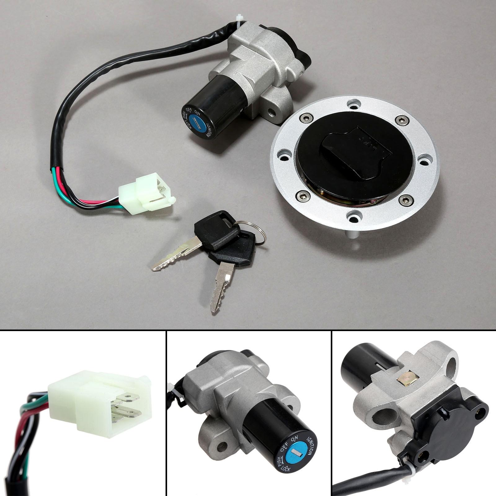 Motorcycle Ignition Switch Lock Fuel Gas Cap Keys For Suzuki RF400 RF600 RF900 RGV250 Gamma VJ21 VJ22 VJ23 GSX750 GSX600 VX800