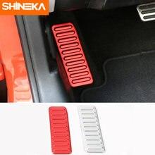 Shineka автомобильный Стайлинг алюминиевый сплав левая ножная