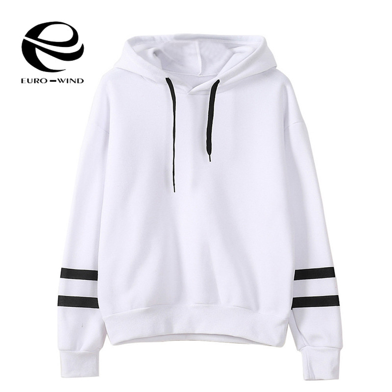 Plus Size 5XL Women's Fashion Sweatshirt Womens Long Sleeve Patchwork Hoodie Sweatshirt Jumper Hooded Pullover Tops Kpop Bangtan