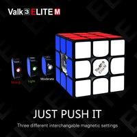 Valk 3 elite m 마그네틱 큐브 QiYi the valk Magnets 매직 스피드 큐브 the valk 3 elite m 프로페셔널 퍼즐 큐브