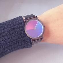 Rainbow WristWatch 2019 Fashion Retro Design Women Dress Watch