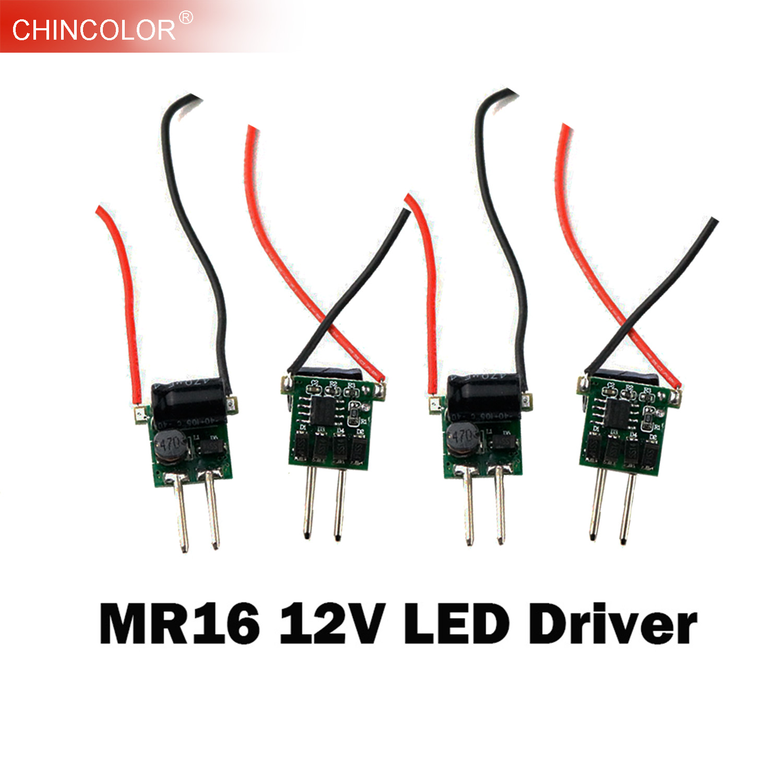 5PCS LED Driver Power Supply Transformer Constant Current  MR16 12V Low Voltage 300mA 450mA 600mA 1W 3W 4W 5W 6W Fast Ship JQ
