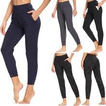 CAPMAP-mallas de Yoga de cintura alta para mujer, pantalones deportivos de realce para Fitness, para correr, estiramiento energético, para gimnasio y moldear el cuerpo, 2020
