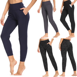 CAPMAP 2020 New High Waist Yoga Leggings Push Up Sports Women Fitness Running Pants Energy Stretch Gym Girl Body Shaping Bottoms