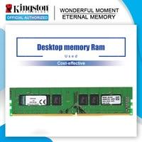 Używane Kingston DDR4 4G 8G 2133MHz 8GB 4 gb 8 gb 1.2V PC4-21300 CL15 288pin pamięć stacjonarna DIMM pamięci RAM