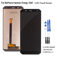 Original For MyPhone Hammer Energy 18x9 LCD Display Touch Screen Assembly Digitizer Glass Panel Replacement LCD Display
