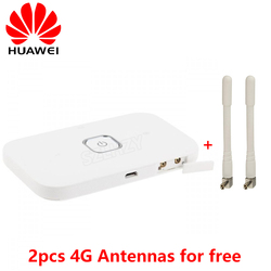 Разблокированный HUAWEI Vodafone R216 R216H 4G беспроводной маршрутизатор 150 Мбит/с Мобильная точка доступа Карманный Mifi 4 г модем автомобильный WiFi 2 ант...