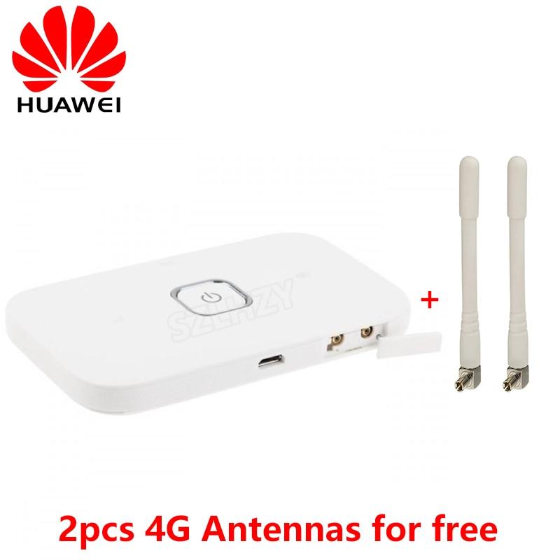 Unlocked HUAWEI Vodafone R216 4G Wireless Router 150Mbps Mobile Hotspot Pocket Mifi 4G Modem Car WiFi With 2 Antennas PK E5573