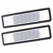 2Pcs Led Number License Plate Light For Vauxhall For Opel For Corsa B Astra F G For Vectra