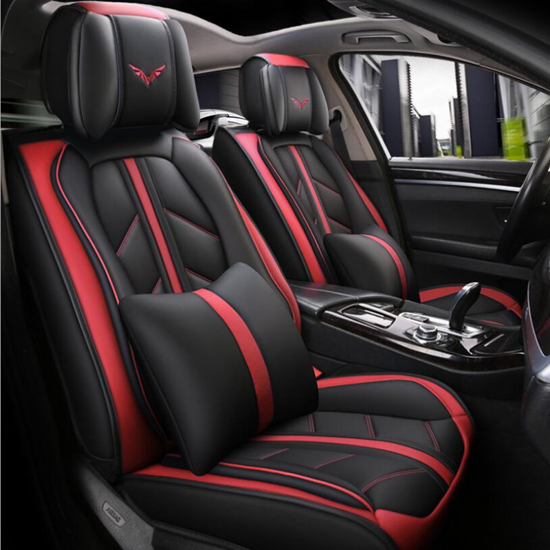 Housse de siège de voiture en cuir de haute qualité pour lada grant nterior 2107 2114 granta kalina xray accessoires housses de siège Automobiles