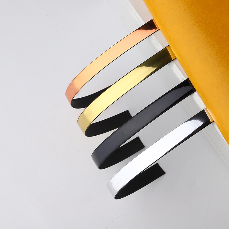 Waterproof Gold Wall Floor Sealing Tape Self-adhesive Tape Strip Floor Sewing Home Decoration Tool Decal Beautiful Seam