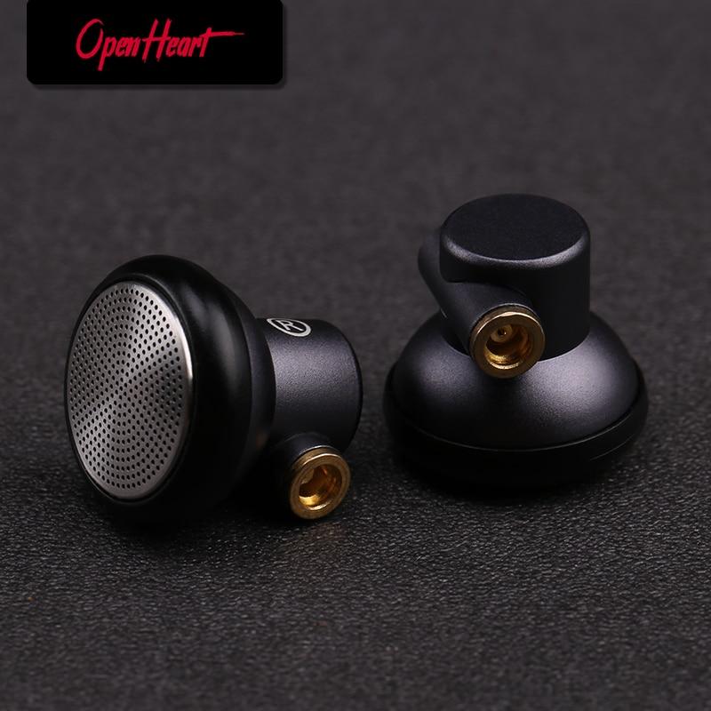 OPENHEART Metal headset with mmcx In-ear Earphones Flat Head Plug Earphone HiFi Bass Earbuds DJ Earbuds Heavy Bass Sound Quality