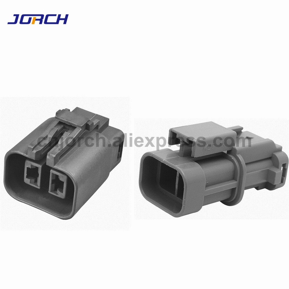 5Sets 2 Pin KET Male Female H20 Generator Auto Wire Heavy Current Connector MG-MG7 Air Cooler Fan Plug 7223-6224-40 7122-6224-40