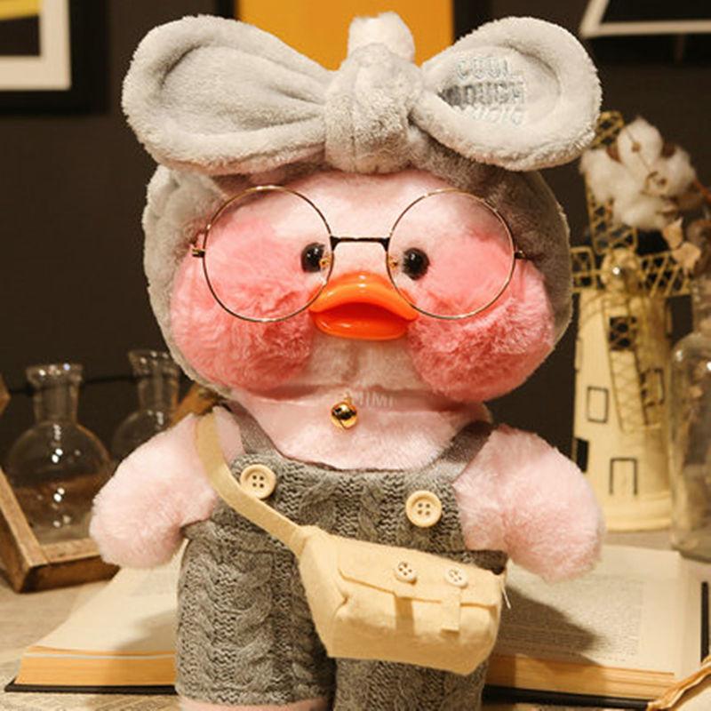 30 см Корейская нетред ношение Гиалуроновая кислота маленькая Желтая утка кукла утки лалалафанан утки плюшевые мягкие игрушки утки кукла на...