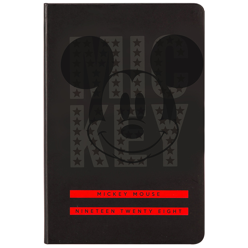 Disney Mickey Minnie Thicken Simple Notebook Mickey Mouse Stationery Office School Supplies A5 Notebook