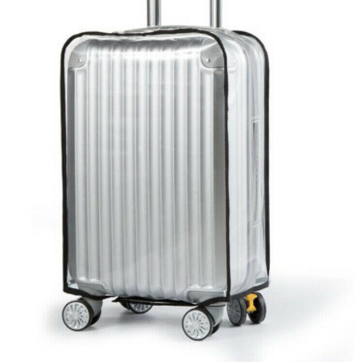 20-30 Inches Luggage Cover Luggage Suitcase Protector Waterproof Transparent Dustproof Cover