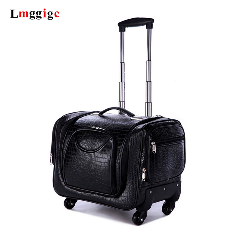Professional Trolley Cosmetic Case,Makeup Luggage Bag,Universal Wheel Storage Box,Multi-layer Large Capacity Beauty Suitcase
