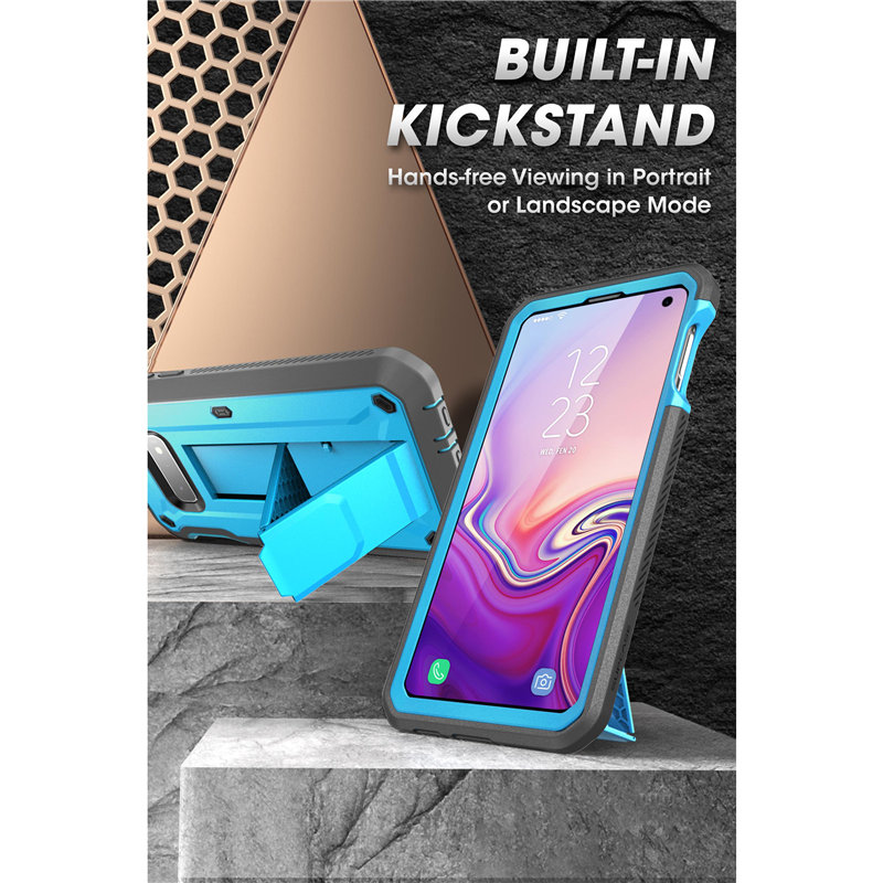 Image 5 - SUPCASE For Samsung Galaxy S10e Case 5.8 inch UB Pro Full Body Rugged Holster Case with Built in Screen Protector & KickstandFitted Cases   -