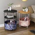 Простой угловой столик для дивана  несколько многофункциональных журнальных столиков  столик для спальни  кровать  полка для дома  маленьки...