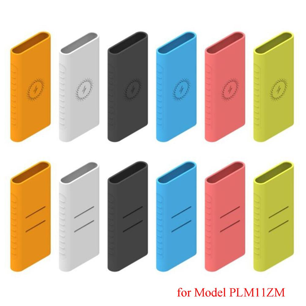 Soft Silicone Protective Case Cover Sleeve Skin For 2019 NEW Xiaomi Mi Power Bank 3 10000mAh Power Bank PLM11ZM Gadgets