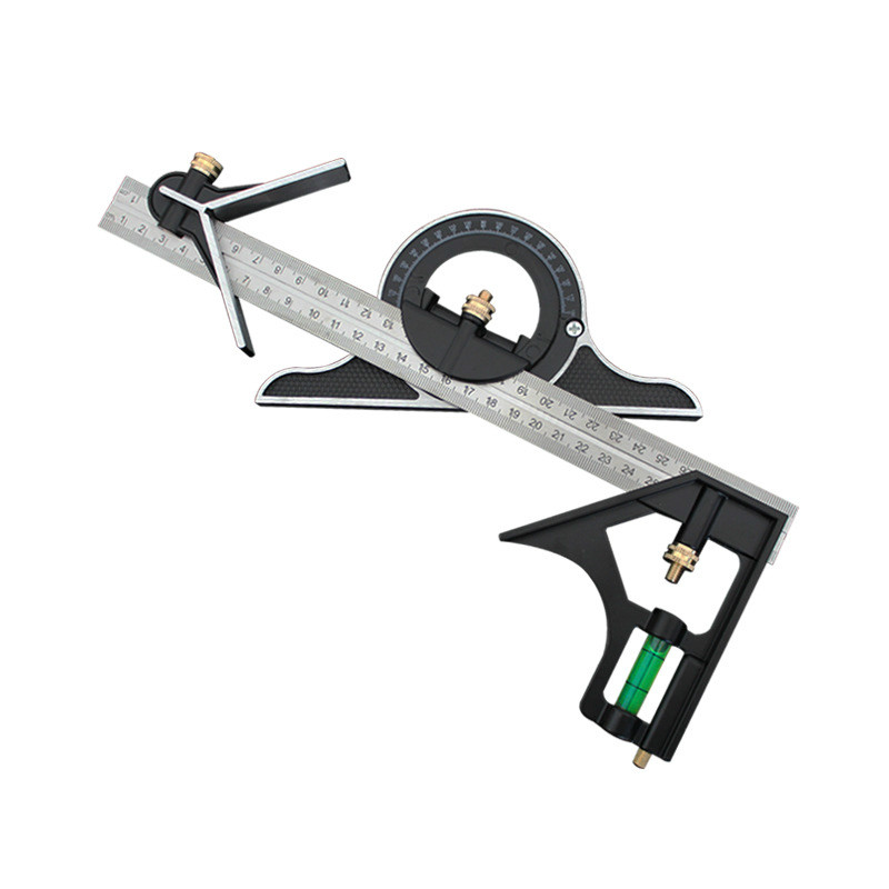 300mm Woodworking Stainless Steel Multifunction Combination Ruler Goniometer Industrial Design Construction