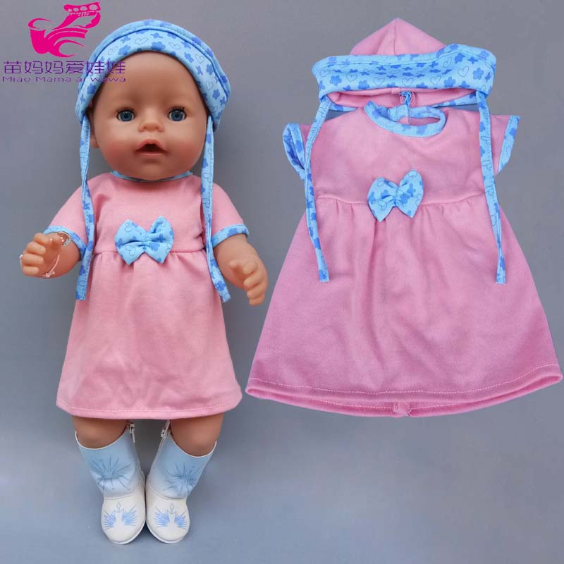 43cm New Born Baby Doll Clothes 18 Inch American OG Girl Doll Jacket