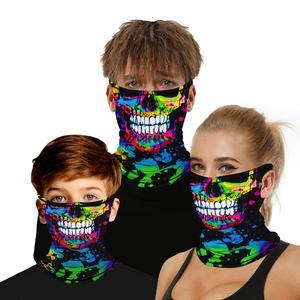 Mascarilla de seda lavable con estampado 3D para niños y adultos, máscara facial protectora a la moda, reutilizable, antigripal
