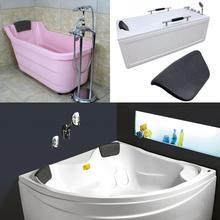 Нескользящая Водонепроницаемая утолщенная спа-ванна подушка для шеи Подушка для спины