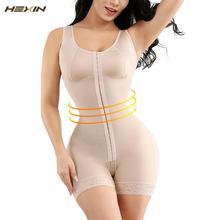 HEXIN كامل محدد شكل الجسم النمذجة حزام مدرب خصر بعقب رافع داخلية البطن تحكم سراويل رفع ملابس داخلية مشد