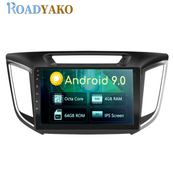 10.1'' Android Car Radio Multimedia Player For Hyundai IX25 2017-2019 Stereo Autoradio Car panel GPS Navigation With WIFI 2 Din image