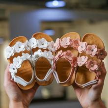 Kids shoes Girls 2020 New Summer Female Child Girls Sandals Flower PVC Princess Baby Girls Shoes fashion sandals 2019autumn new girls princess shoes suede metal square buckle child flats little kids female baby princess shoes with rhineston