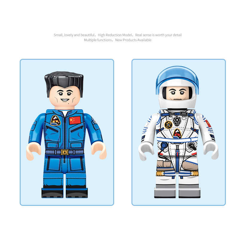 新しいスペース航空月面プローブ宇宙船有人宇宙船子供のおもちゃレンガモデルキット友人ためのギフトのおもちゃ送料無料