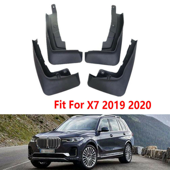 4 PCS Front Rear Car Mudflaps For-BMW X7 G07 2019-2020 Fender Mud Guard Flap Splash Flaps Mudguards Accessories