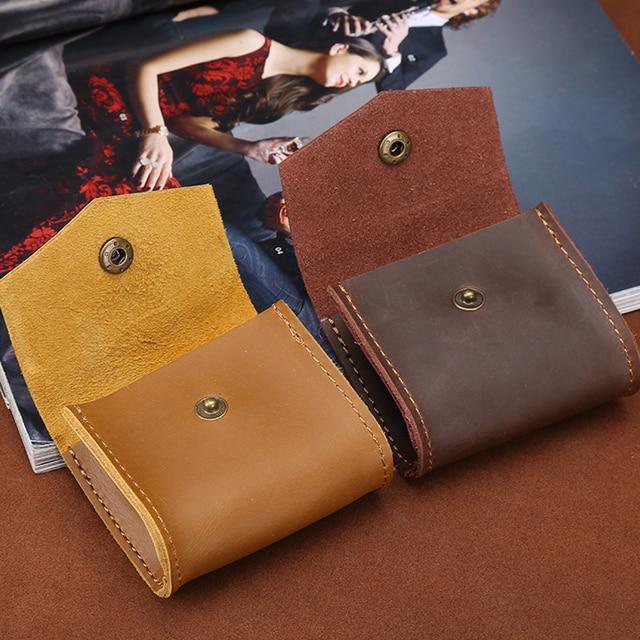 True Leather Headphone Case for Earphone Bag Box Headphones Portable Case Headphone Sundries Accessories Headset Storage Bag