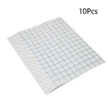 10 шт печатная бумажная футболка железная для легких тканые листы переводная бумага А4