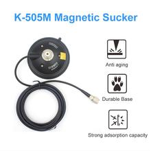 Surmen K 505M 3D Vacuüm Magneet 12Cm Base + 4M Teflon Lijn Vacuüm Zuignappen Voor Auto Vehilce Radio