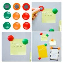 10 piunids/lote imanes de nevera coloridos creativos imanes de la Oficina del refrigerador para calendario pizarras decoración del hogar accesorios de cocina