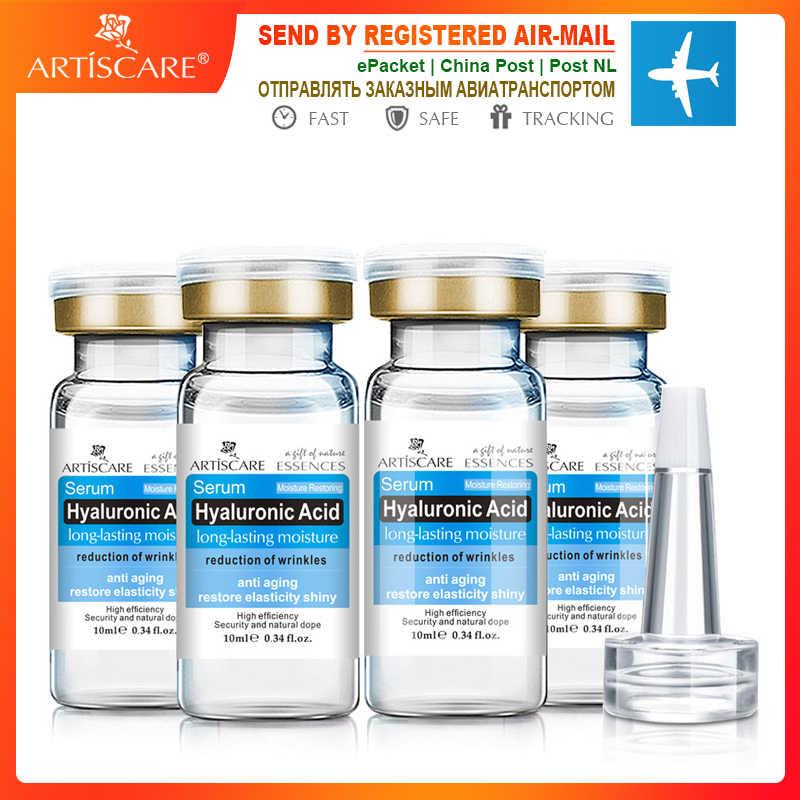 ARTISCARE serum z kwasem hialuronowym 4 sztuk ślimak krem do twarzy z esencją nawilżający trądzik leczenie naprawy wybielanie anti-aning Winkles