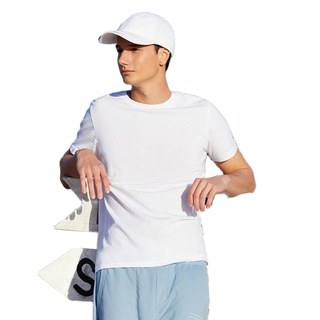 SEMIR summer cotton T shirts men 2021 simple o neck stretch solid new tops clothing casual tshirt man streetwear cool tee shirts 2