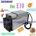 Verwendet Asic miner Ebit E10 18T SHA256 Bitecoin BCH BTC Miner Besser als antminer S9 S11 S15 WhatsMiner M3X m10 Innosilicon T2T T3-in Netzwerkschalter aus Computer und Büro bei