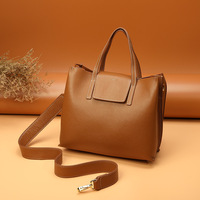 shoulder bags women Tote Bag brand design women's leather mother shopping bag solid color travel bags