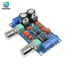 NE5532 Stereo Dual Channel Pre-amp Preamplifier Audio Low Pass Filter Plate Signal Bluetooth Amplifer Board