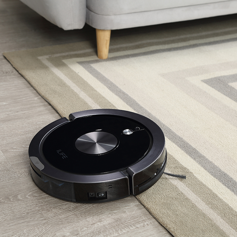 ILIFE X800 Robot New Model Wholesale Robotic Vacuum Cleaner with APP Function 2