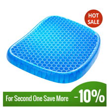 Gel Seat Cushion Protection Living-Room Honeycomb-Design Silicone Bedroom Family